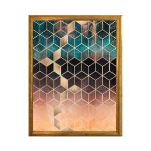 Plakat w ramce piacenza art hexagon 30x20 cm; cena: 44 zł. Fot. Bonami.pl