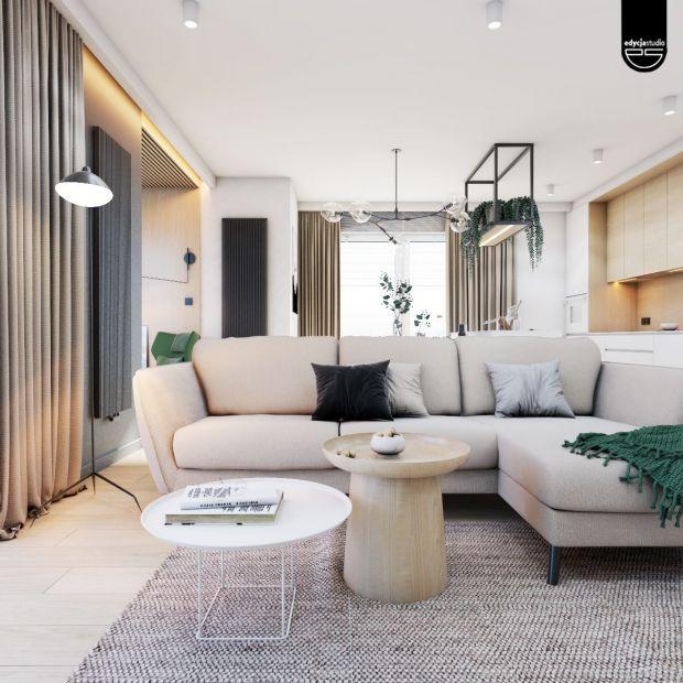 Nowoczesne mieszkanie z otwartą strefą dzienną