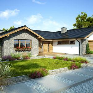 Dakota V to ponad 170-metrowy dom zaprojektowany z wyjątkową dbałością o każdy szczegół. Dom Dakota V. Projekt: Marcin Abramowicz, Marta Zaperty-Adamek. Fot. Dobre Domy