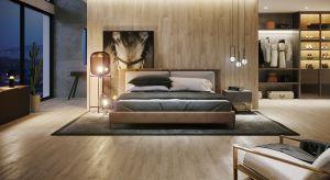 W sypialni szczególnie ważne jest, aby wybrane materiały, faktury i kolory harmonijnie ze sobą współgrały tworząc scenerię idealną do wypoczynku.