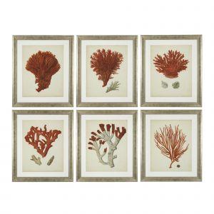 Dodatki i dekoracje w kolorze Living Coral. Fot. Mood-Design