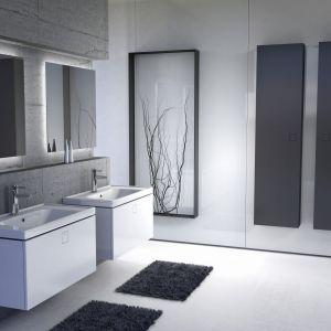 Aranżacja łazienki - nowoczesne meble łazienkowe. Kolekcja Nodo. Fot. Elita