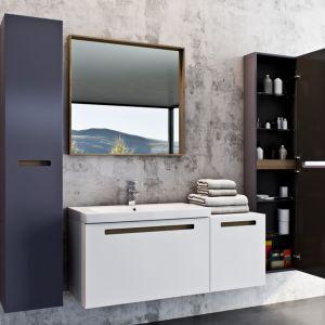 Aranżacja łazienki - nowoczesne meble łazienkowe. Kolekcja Senso. Fot. Elita