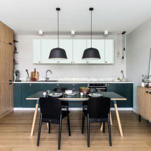 Kuchnia dla rodziny. Projekt: Marta Raca, Michał Raca. Fot. Foto&Mohito