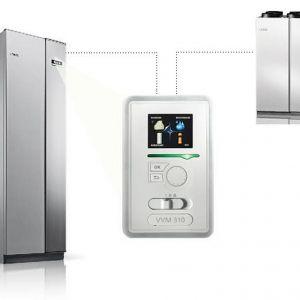 System NIBE składający się z rekuperatora NIBE ERS i powietrznej lub gruntowej pompy ciepła NIBE. Fot. Nibe-Biawar