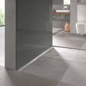 Nowoczesna łazienka - odpływy liniowe. Fot. TECE