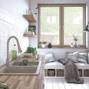 Stylowa kuchnia - wyposażenie strefy zmywania. Fot. Laveo