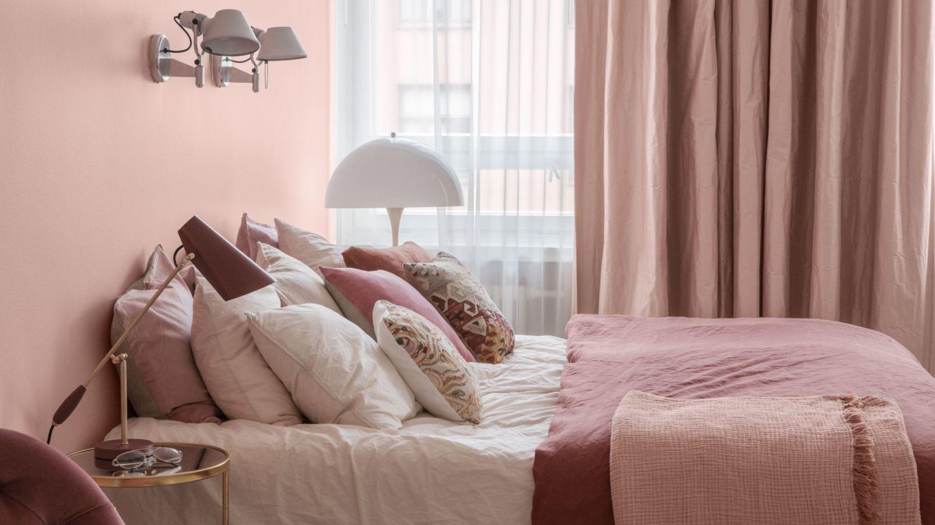 Wnętrza w stylu total look: farba Tikkurila Color Now 2019, kolor H320 Magnolia. Fot. Tikkurila