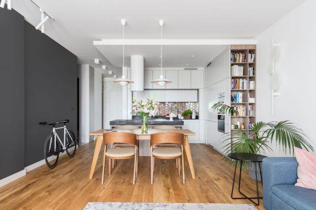 Nieduże mieszkanie dla rodziny - nowoczesne i przytulne wnętrze