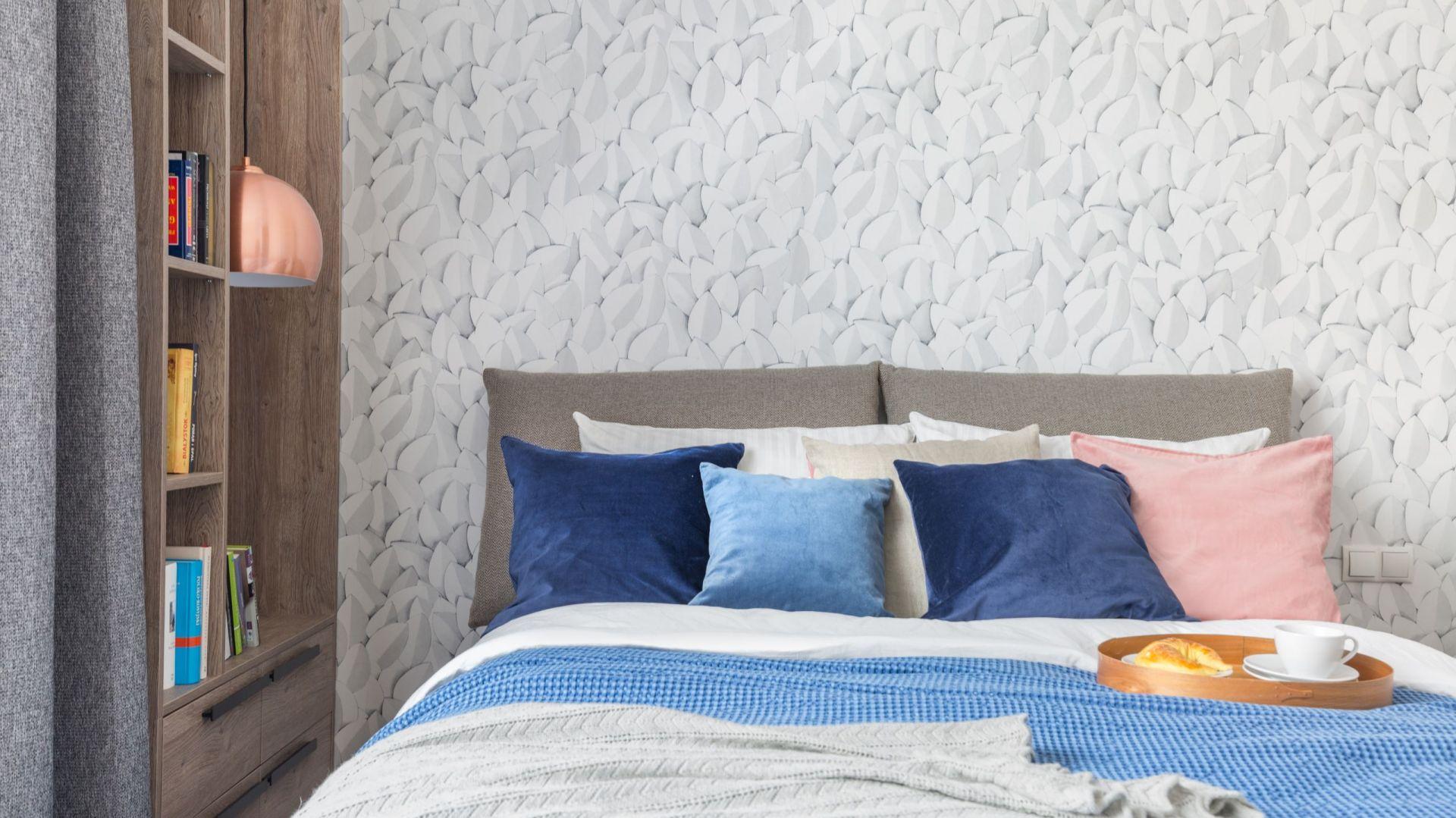 Tekstylia dodają domowego ciepła. Projekt: Dominika Wojciechowska. Fot. Marta Behling/ Pion Poziom