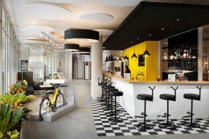 Wnętrza hotelu Ibis Styles City w Budapeszcie. Projekt: Tremend. Fot. Tremend