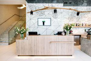 Wnętrza hotelu Ibis Styles w Białymstoku. Projekt: Tremend. Fot. Tremend