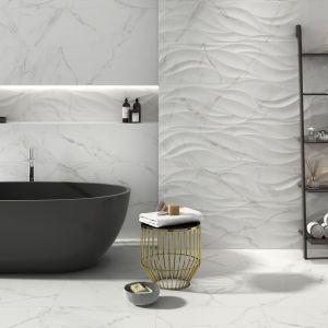 Płytki ceramiczne do łazienki - najmodniejsze kolekcje 2018 roku. Producent: Emotion, kolekcja naos. Fot. Emotion