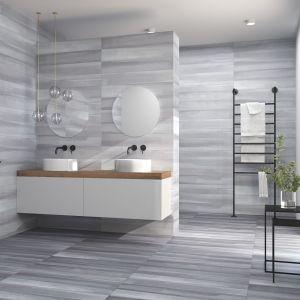 Płytki ceramiczne do łazienki - najmodniejsze kolekcje 2018 roku. Kolekcja Lennie. Fot. Harmony