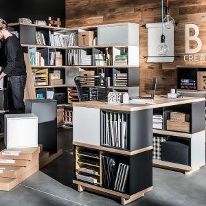 Kolekcja Balance firmy Vox to system intuicyjny, któregowygląd i użyteczności zależą wyłącznieod wyobraźni użytkownika. Fot. Vox