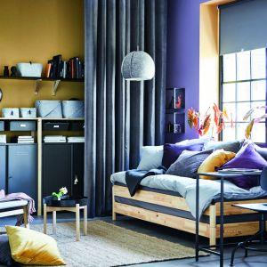 System Ivar został zaprojektowany, aby móc łączyć różne elementy i dostosowywać je do potrzeb konkretnej przestrzeni. Fot. IKEA