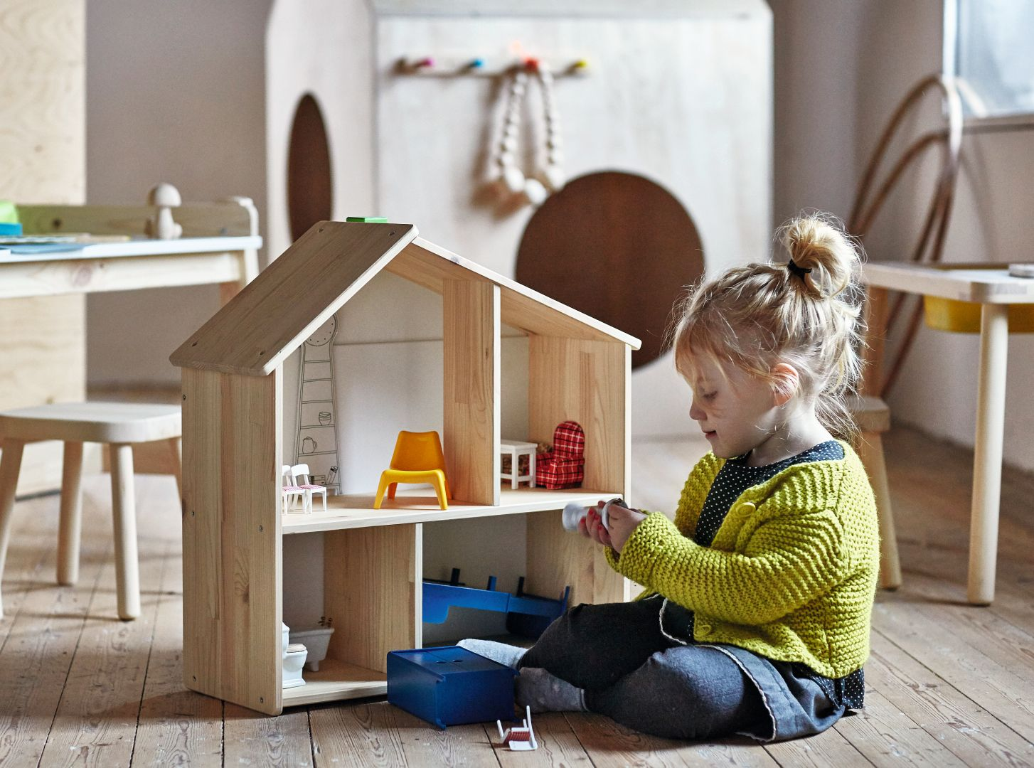 """Meble z kolekcji Flisat"""" firmy IKEA. Fot. IKEA"""