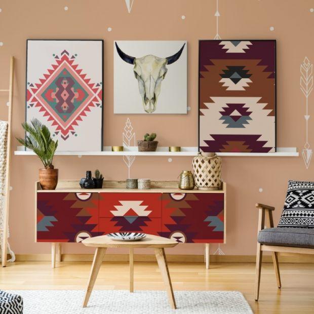 Dekoracje wnętrz - zobacz jak modnie połączyć wzory