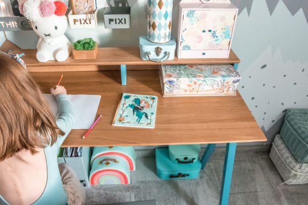 Biurko do pokoju dziecka - zobacz nowe kolory mebli