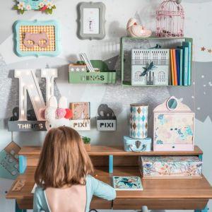 Biurko Vogel do pokoju dziecka - nowe kolory. Fot. Borcas
