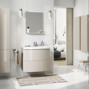 W skład funkcjonalnej i nowoczesnej serii Easy wchodzą meble, ceramika sanitarna i parawany nawannowe. Fot. Cersanit