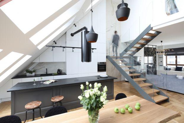 Schody w domu - 20 dobrych projektów