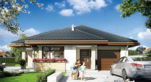 Dom na miarę jest to parterowy dom jednorodzinny dla rodziny 4-5-osobowej. Nieduży, nieco ponad stumetrowy projektposiada nowoczesna bryłę i niezwykle funkcjonalne wnętrze.