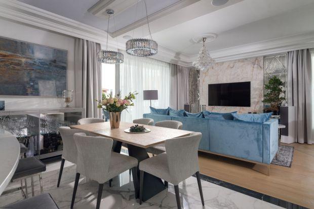 Luksusowy apartament - piękne wnętrze w stylowym wydaniu