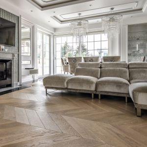 Podłoga drewniana warstwowo Finishjodła francuska wykończona olejowoskiem. Fot. Finishparkiet