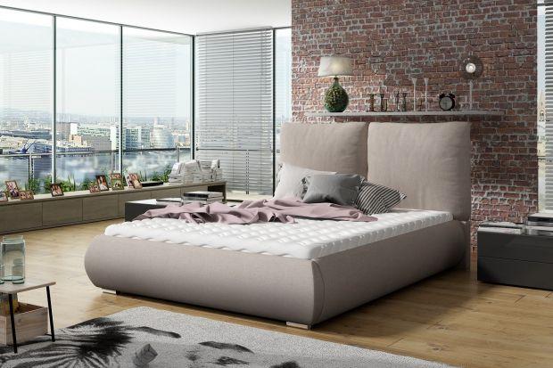 Łóżko tapicerowane - nowość do sypialni w klimacie hygge