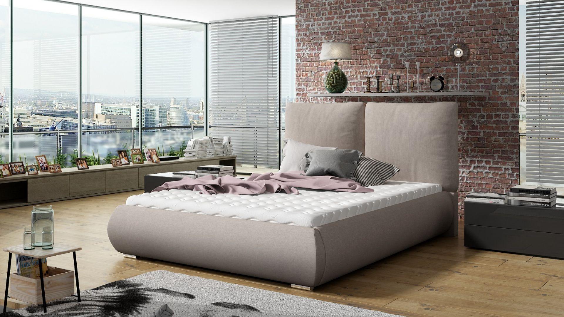 Łóżko tapicerowane Unity marki Comforteo. Fot. Comforteo.