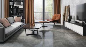 Płytki gresowe imitujące beton w wykończeniu lappato to niewątpliwie hit aranżacyjny ostatniego sezonu.