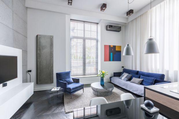 Ogrzewanie w domu - designerski grzejnik betonowy