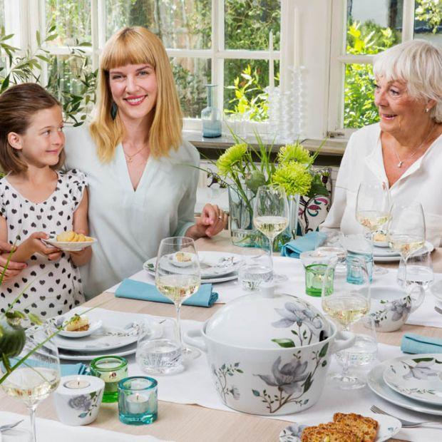 Dzień Babci, Dzień Dziadka - zastawa na rodzinne przyjęcie