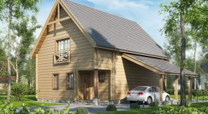 Projekty domów letniskowych to zarówno małe domki z drewna, jak i bardziej rozbudowane letnie rezydencje w technologii murowanej.