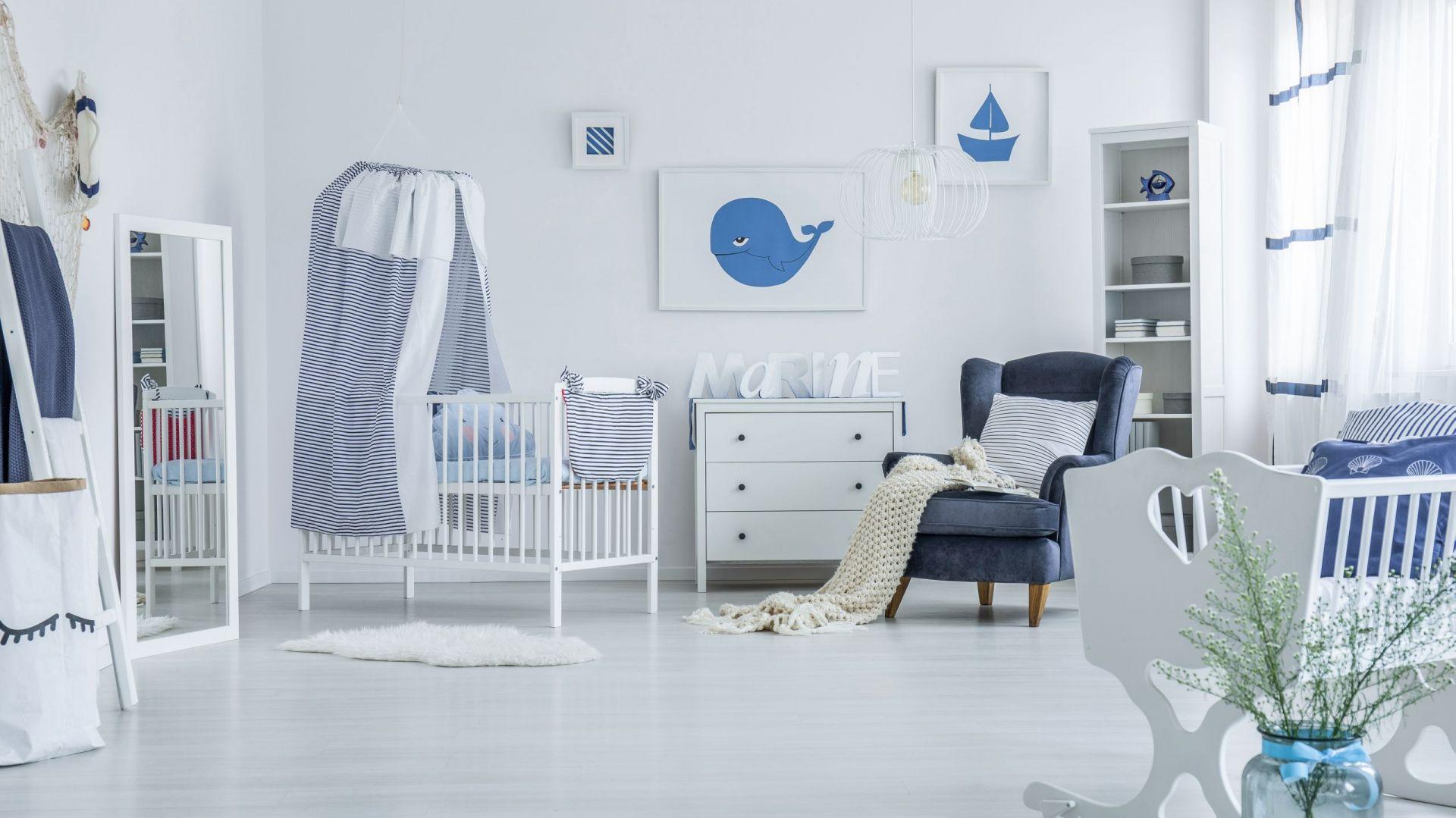 Bezpieczny pokój dla niemowlaka. Fot. Dekoral