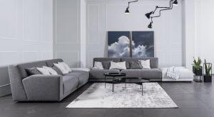 Szara kanapa to nadal najchętniej wybierany mebel wypoczynkowy. W sklepach pojawiła się nowa, modułowa kolekcja.
