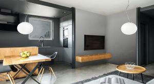 Niecodzienna forma lampy znakomicie sprawdzi się w każdego rodzaju pomieszczeniach, od jadalni, przez kuchnię czy salon.