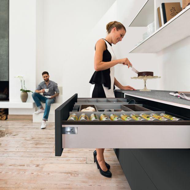 Nowoczesne szuflady - design i funkcjonalność