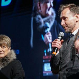 Otwarcie 4 Design Days 2019: Prof. Ewa Kuryłowicz, architekt oraz Piotr Kraśko, dziennikarz.  Fot. PTWP