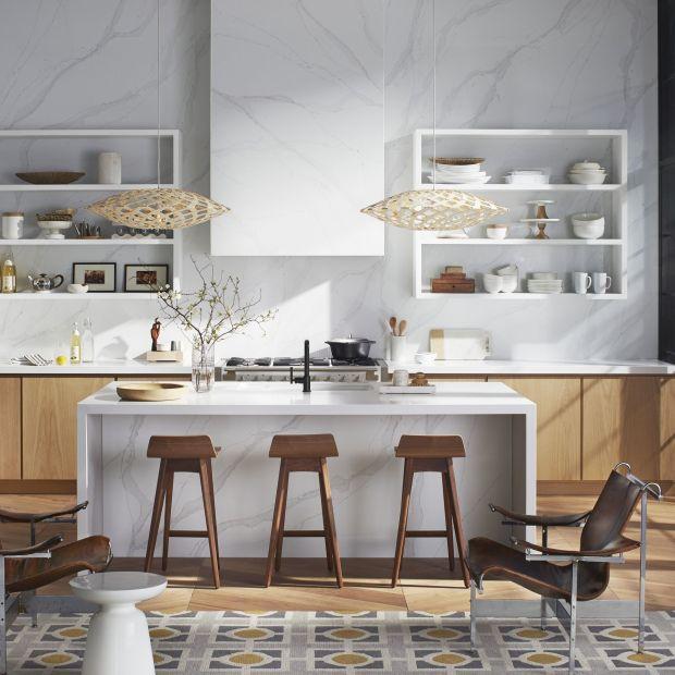 Nowoczesne kuchnia - pomysły na efektowne blaty