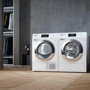 Nowe modele pralek i suszarek Miele z linii Prestige. Fot. Miele