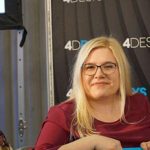"""Wykłady i dyskusje zorganizowane przez redakcję magazynu """"Świat Łazienek i Kuchni"""". Fot. Justyna Łotowska"""