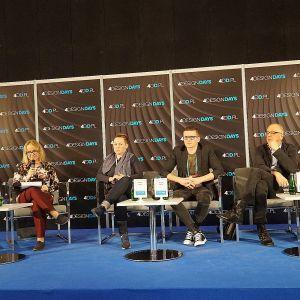 Dyskusja zorganizowana przez redakcję magazynu Świat Łazienek i Kuchni. Fot. Justyna Łotowska
