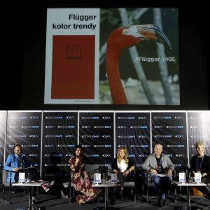 """Design. Wnętrza mieszkaniowe. Panel """"Kolor ma znaczenie - trendy 2019"""". Fot. PTWP"""