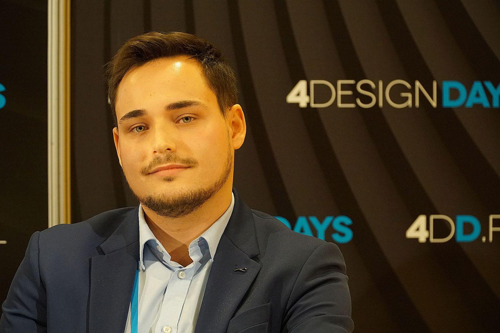 Artur Jóźwik, projektant wnętrz, INVENTIVE studio. Fot. Publikator