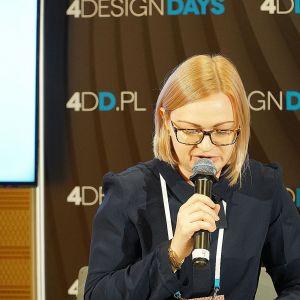 Akademia Dobrze Mieszkaj na 4 Design Days: Anna Usakiewicz, redaktor prowadząca magazynu Dobrze Mieszkaj. Fot. Justyna Łotowska