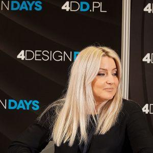 Akademia Dobrze Mieszkaj na 4 Design Days: Małgorzata Bacik, architekt, MM Architekci.  Fot. Justyna Łotowska