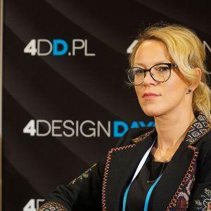 Akademia Dobrze Mieszkaj na 4 Design Days: Barbara Uherek-Bradecka, architekt, Studio BB Architekci. Fot. Justyna Łotowska