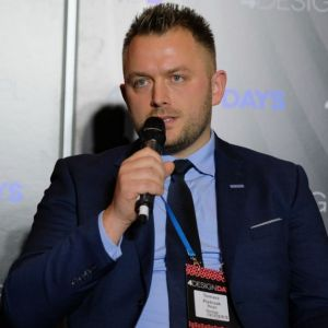 Tomasz Pietrzak, Sales & Product Director North & Central Europe, Royo Group International Bathroom. Fot. PTWP